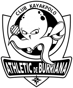 logo del club kayak polo Burriana